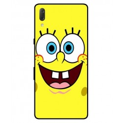 Durable SpongeBob Cover For Sony Xperia L3