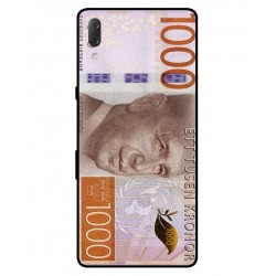 Durable 1000Kr Sweden Note Cover For Sony Xperia L3