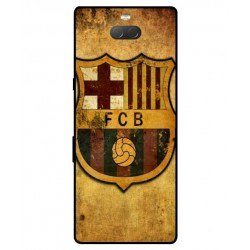 Durable FC Barcelona Cover For Sony Xperia 10 Plus