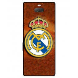 Durable Real Madrid Cover For Sony Xperia 10 Plus
