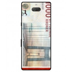 1000 Danish Kroner Note Cover For Sony Xperia 10 Plus