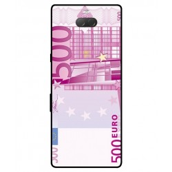 Durable 500 Euro Note Cover For Sony Xperia 10 Plus