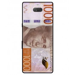 Durable 1000Kr Sweden Note Cover For Sony Xperia 10 Plus