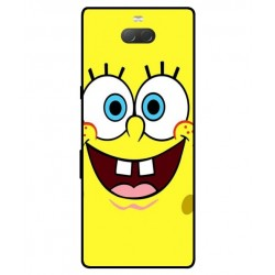 Durable SpongeBob Cover For Sony Xperia 10