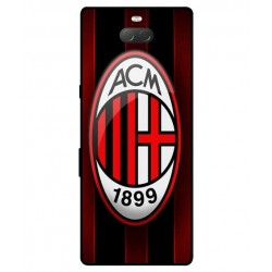 Durable AC Milan Cover For Sony Xperia 10