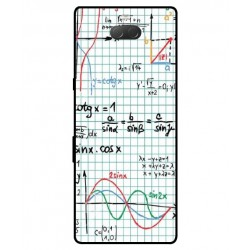 Durable Mathematics Cover For Sony Xperia 10