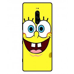 Durable SpongeBob Cover For Sony Xperia 1