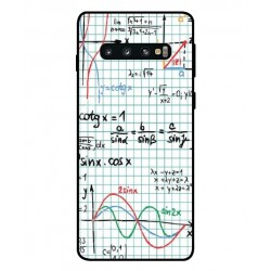 Durable Mathematics Cover For Samsung Galaxy S10