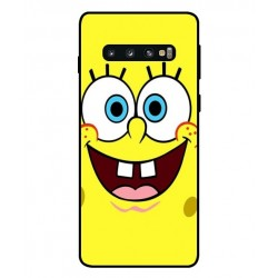 Durable SpongeBob Cover For Samsung Galaxy S10