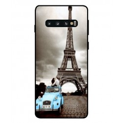 Durable Paris Eiffel Tower Cover For Samsung Galaxy S10