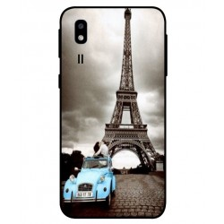 Durable Paris Eiffel Tower Cover For Samsung Galaxy A2 Core