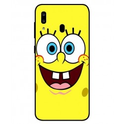 Durable SpongeBob Cover For Samsung Galaxy A20
