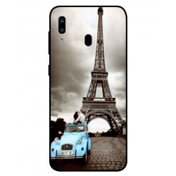 Durable Paris Eiffel Tower Cover For Samsung Galaxy A20