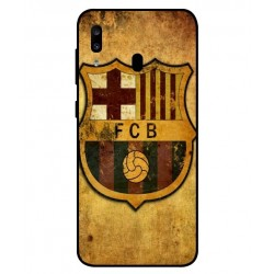 Durable FC Barcelona Cover For Samsung Galaxy A20
