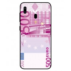 Durable 500 Euro Note Cover For Samsung Galaxy A20