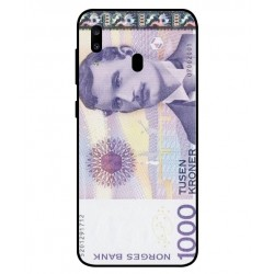 1000 Norwegian Kroner Note Cover For Samsung Galaxy A20
