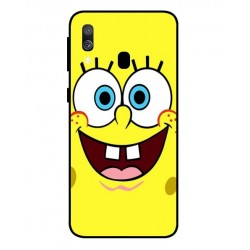 Durable SpongeBob Cover For Samsung Galaxy A40