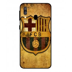 Durable FC Barcelona Cover For Samsung Galaxy A40