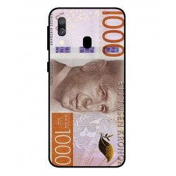 Durable 1000Kr Sweden Note Cover For Samsung Galaxy A40