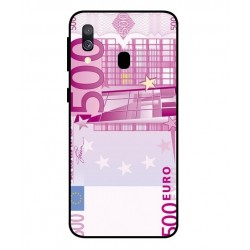 Durable 500 Euro Note Cover For Samsung Galaxy A40