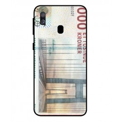1000 Danish Kroner Note Cover For Samsung Galaxy A40