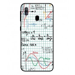 Durable Mathematics Cover For Samsung Galaxy A40