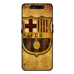 Durable FC Barcelona Cover For Samsung Galaxy A80