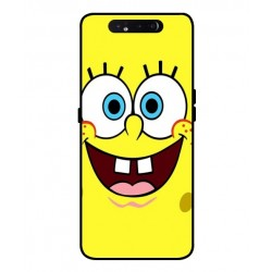 Durable SpongeBob Cover For Samsung Galaxy A80