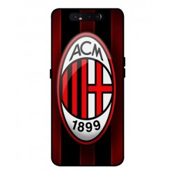 Durable AC Milan Cover For Samsung Galaxy A80