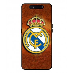 Durable Real Madrid Cover For Samsung Galaxy A80