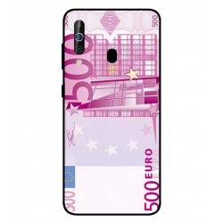 Durable 500 Euro Note Cover For Samsung Galaxy M40