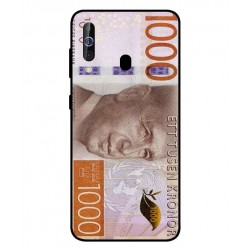 Durable 1000Kr Sweden Note Cover For Samsung Galaxy M40