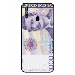 1000 Norwegian Kroner Note Cover For Samsung Galaxy M40