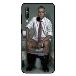 Durable Obama On The Toilet Cover For Samsung Galaxy M40