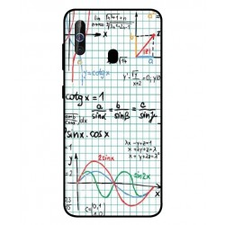 Durable Mathematics Cover For Samsung Galaxy M40