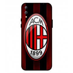 Durable AC Milan Cover For Xiaomi Black Shark 2