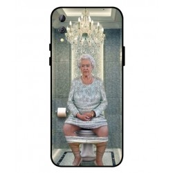 Durable Queen Elizabeth On The Toilet Cover For Xiaomi Black Shark 2