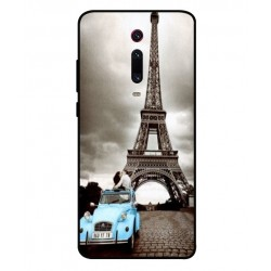Durable Paris Eiffel Tower Cover For Xiaomi Mi 9T