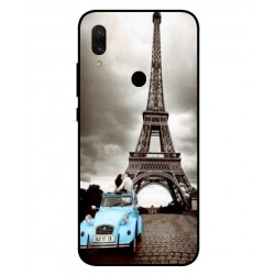 Durable Paris Eiffel Tower Cover For Xiaomi Redmi 7