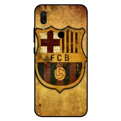 Durable FC Barcelona Cover For Xiaomi Redmi 7