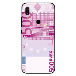 Durable 500 Euro Note Cover For Xiaomi Redmi 7