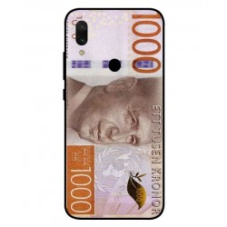 Durable 1000Kr Sweden Note Cover For Xiaomi Redmi 7