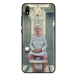 Durable Queen Elizabeth On The Toilet Cover For Xiaomi Redmi 7A