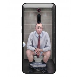 Durable Vladimir Putin On The Toilet Cover For Xiaomi Redmi K20