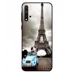 Durable Paris Eiffel Tower Cover For Huawei Nova 5