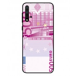 Durable 500 Euro Note Cover For Huawei Nova 5