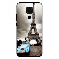 Durable Paris Eiffel Tower Cover For Huawei Nova 5i Pro