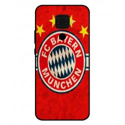 Durable Bayern De Munich Cover For Huawei Nova 5i Pro