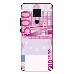 Durable 500 Euro Note Cover For Huawei Nova 5i Pro