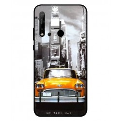Durable New York Cover For Huawei P20 Lite 2019